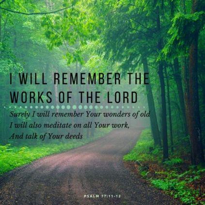 Psalm 77-11.12
