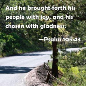 Psalm 105.43