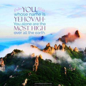 Psalm 83.18