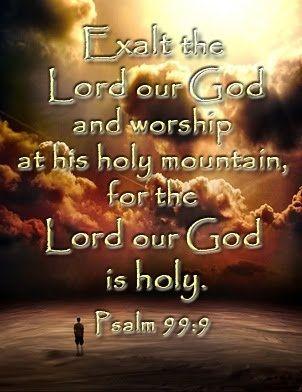 Psalm 99.9